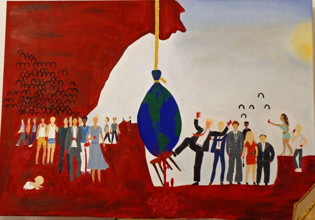 Karlo Grados Zeitgenössische Kunst Stuttgart Ölgemälde