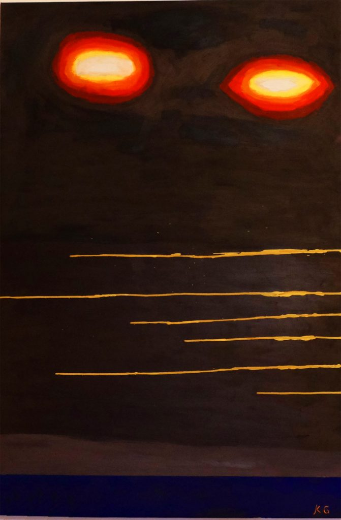 Zeitgenössische Kunst Stuttgart Germany Karlo Grados Galerie Abstrakt Feelings