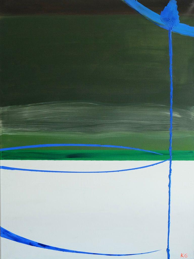 Zeitgenössische Kunst Stuttgart Karlo Grados moderne abstrakte Kunst
