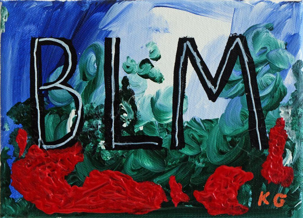 BLM Zeitgenössische Kunst Deutschland Karlo Grados Stuttgart BLM