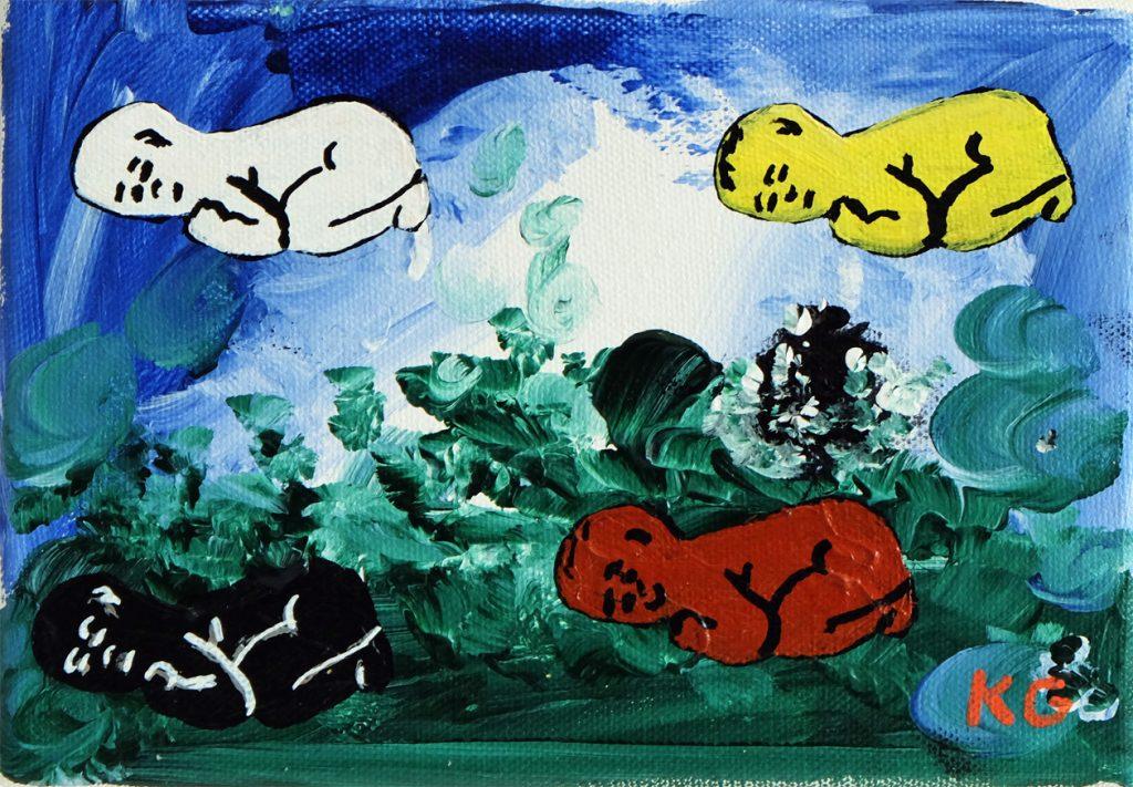 Before racism Zeitgenössische Kunst Deutschland Karlo Grados Stuttgart BLM