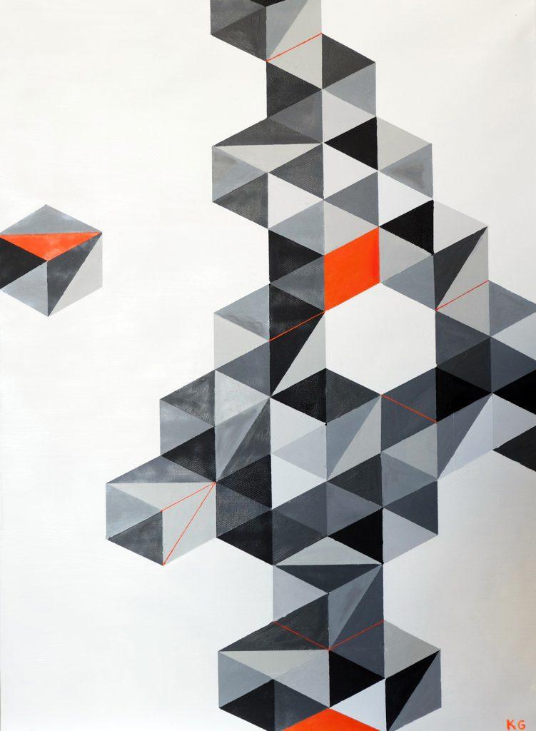 107+6 Zeitgenössische Kunst Stuttgart Karlo Grados modern art ölmalerei19