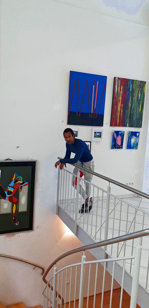 Zeitgenössische Kunst Stuttgart Karlo Grados Artwalk contemporary art